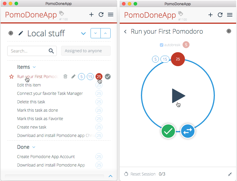 PomoDone App How-To: Step by step - PomoDoneApp