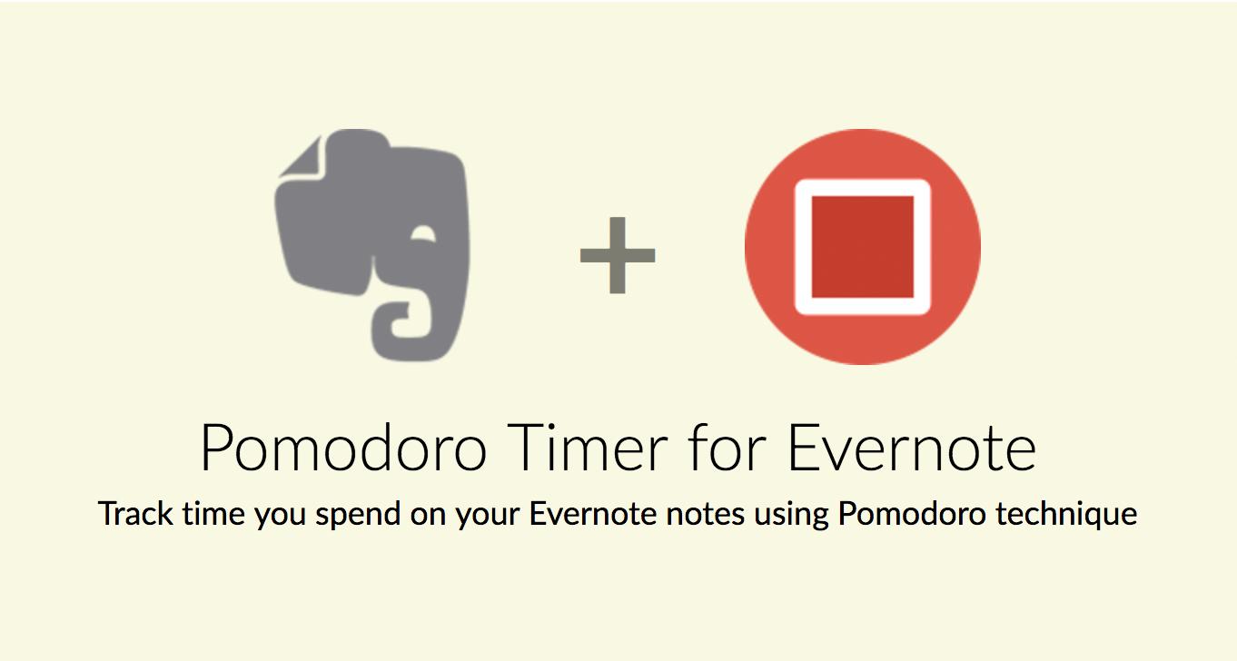 Pomodoro Timer for Evernote - PomoDoneApp